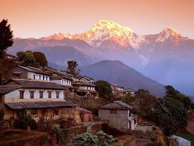 Nepal trekking region