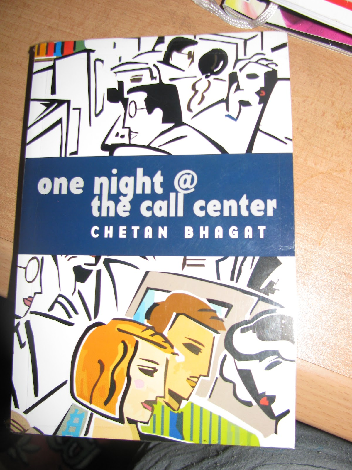 ONE NIGHT @ THE CALL CENTER —CHETAN BHAGAT