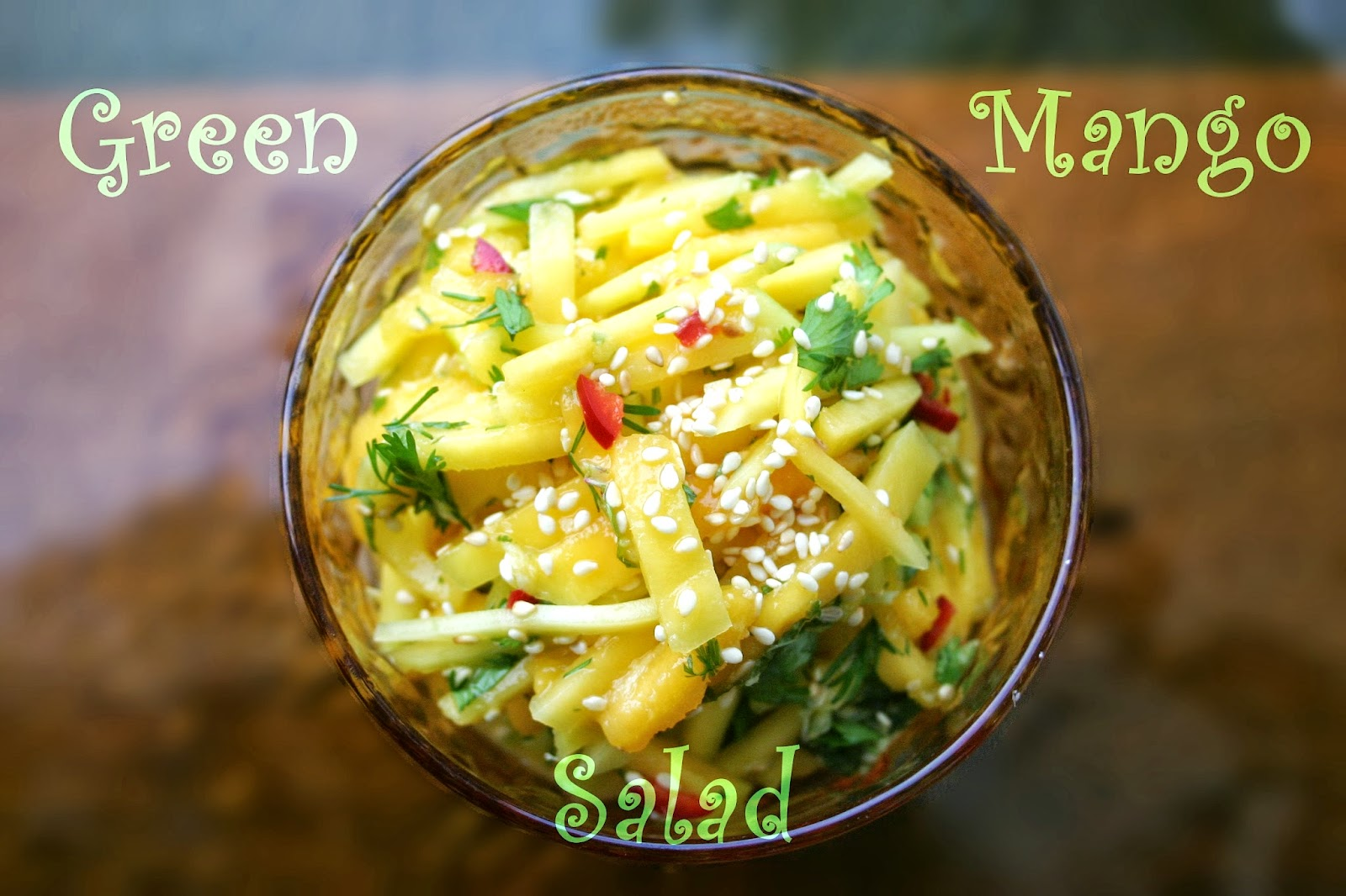 Effortnesslessly: Green Mango Salad