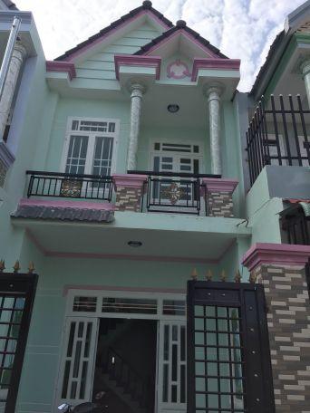 Bán nhà 1 lầu 1 trệt ngay trung tâm phường Tân Đông Hiệp Dĩ An – Bình Dương