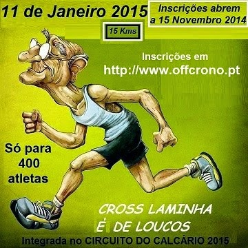 Cross Laminha 11 de Janeiro 2015