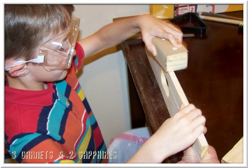 Red Toolbox woodworking tools and kits for kids