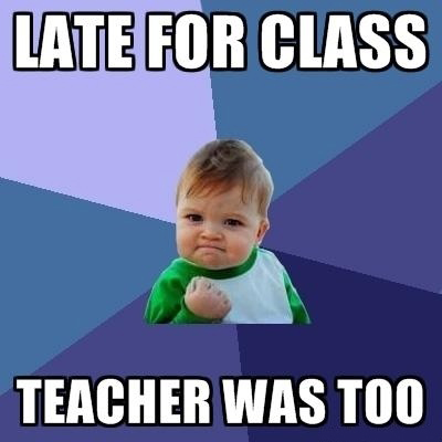 Late For Class - Teacher Was Too - Good Old School Days