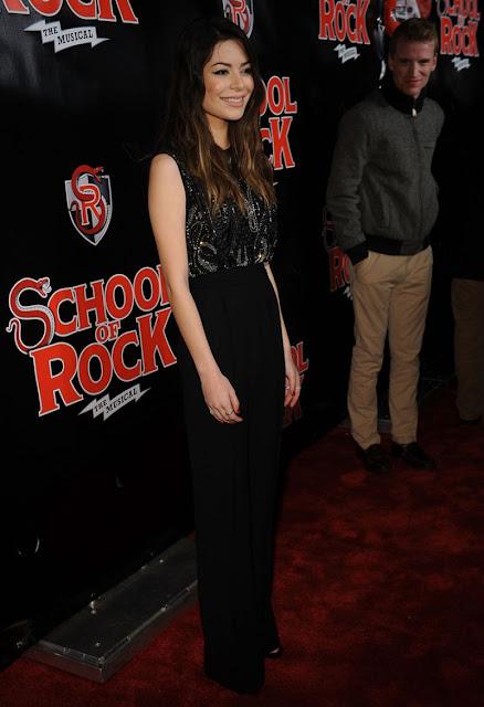 Actress, Model, @ Niranda Cosgrove School Of Rock Broadway play opening NYC