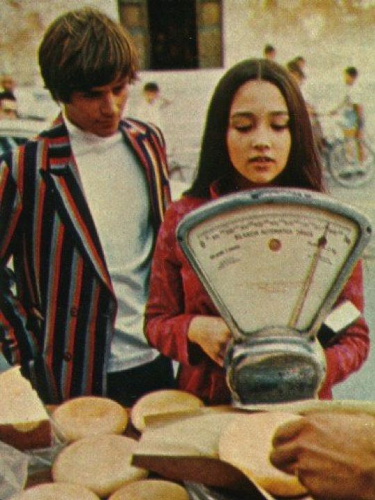 The little white attic : Olivia Hussey and Leonard Whiting