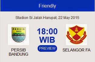 Preview Persib vs Selangor FA