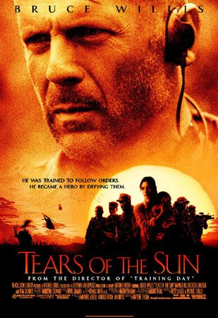 Poster Of Tears of the Sun 2003 720p BRRip Dual Audio