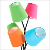 Stehlampe Cinque Colore