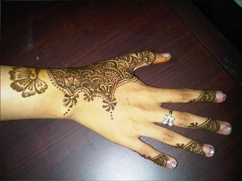 Mehndi Henna Simple Design : Mehndi simple designs