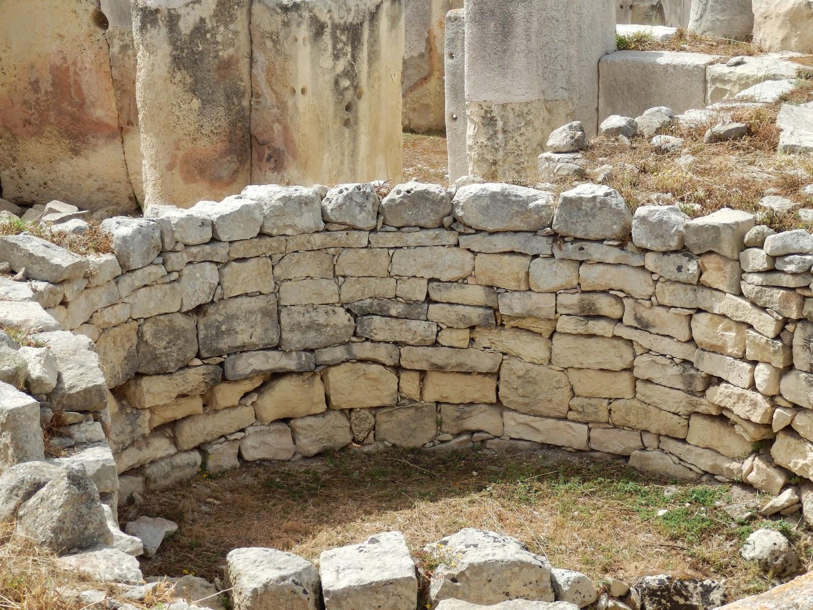 Walls of Tarxien Temples, Malta