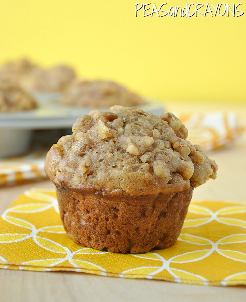 Fluffy Apple Cinnamon Banana-Nut Muffins