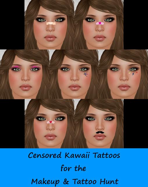 Censored A Sneak Peek At The Makeup & Tattoo Hunt