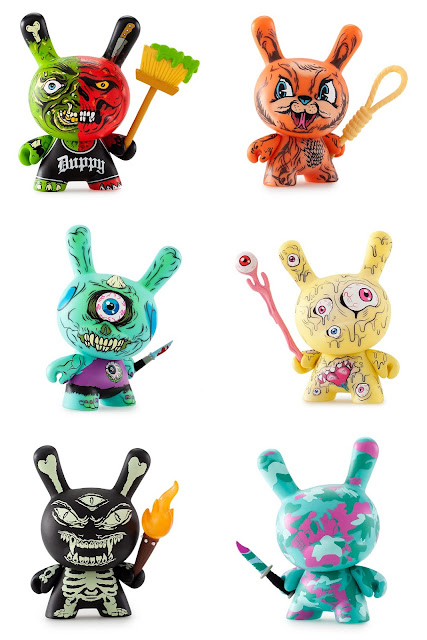 Mishka Dunny Blind Box Series by Kidrobot