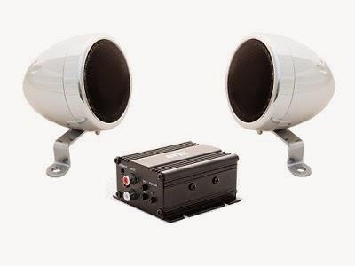 двухканальный усилитель для мотоцикла AVS117 и влагозащищенные динамики AVS330MSP