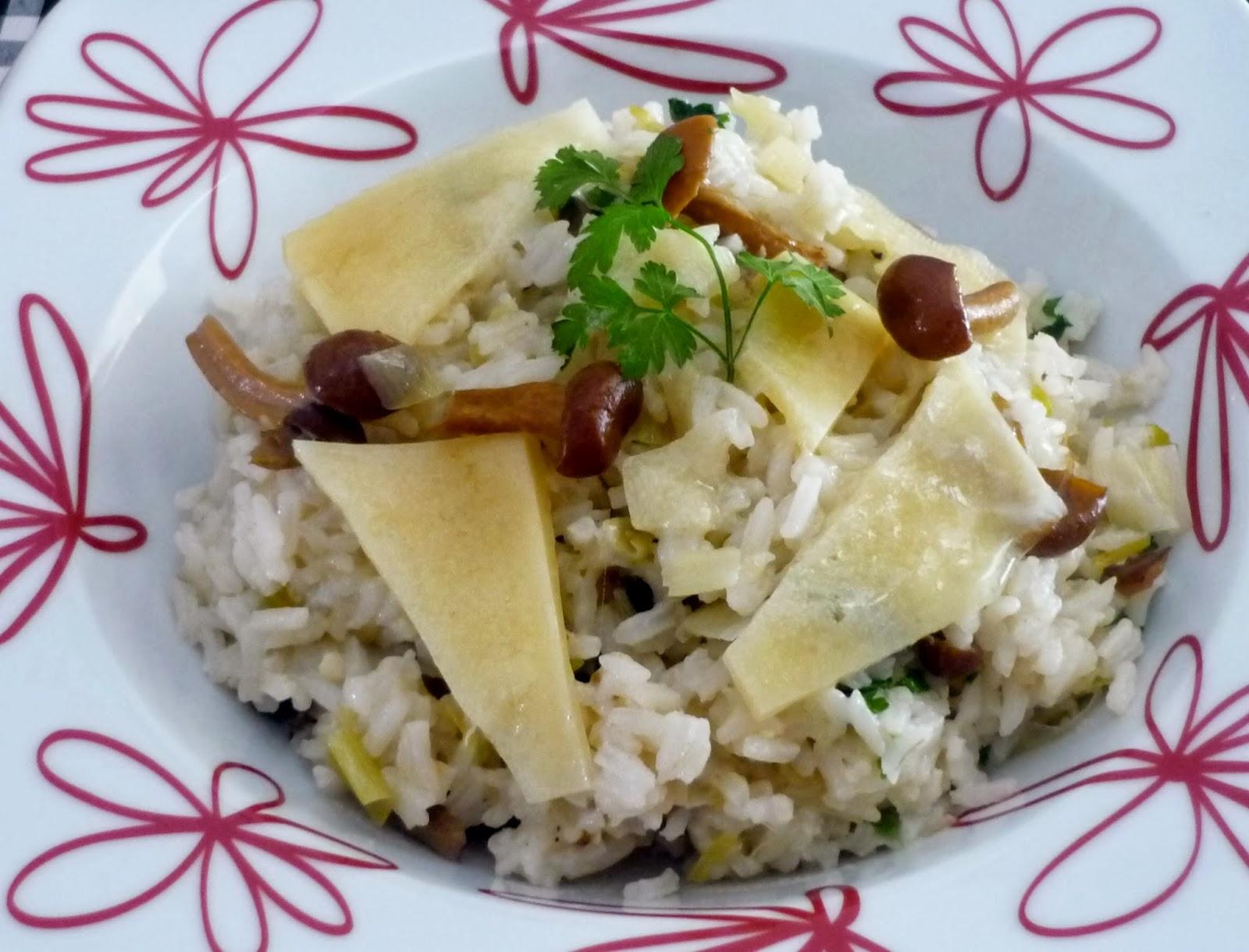 Cocina en familia arroz con nameko for Cocina en familia