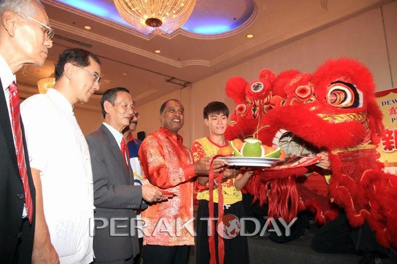 MB Hadir Jamuan Makan Sempena Tahun Baru Cina