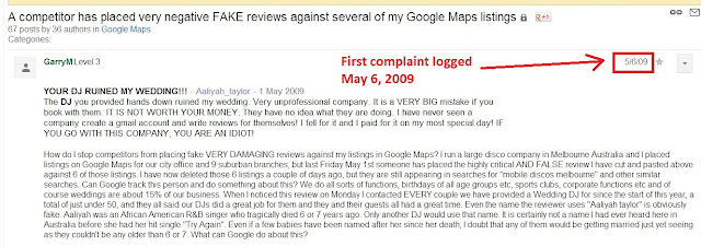 does flag as inappropriate help remove fake reviews screenshot 1