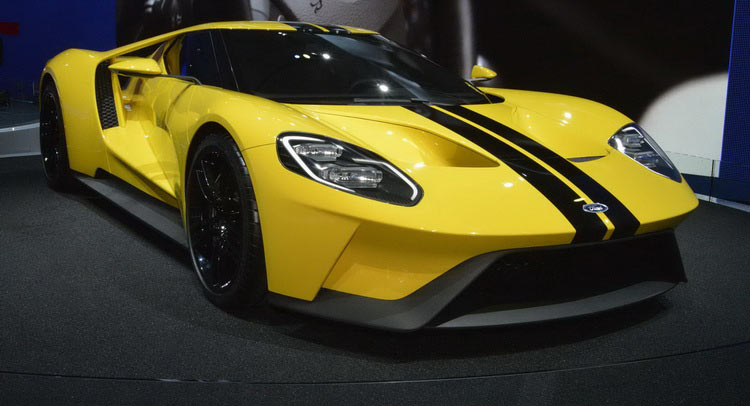 2017 ford gt yellow - YouTube