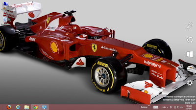 Fernando Alonso Formula 1 Theme For Windows 7