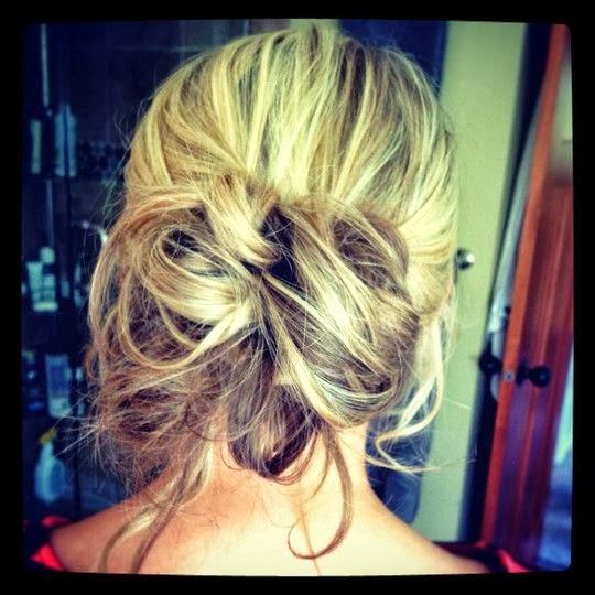 Hair Style Seat : YeYe Hair: Messy Updo