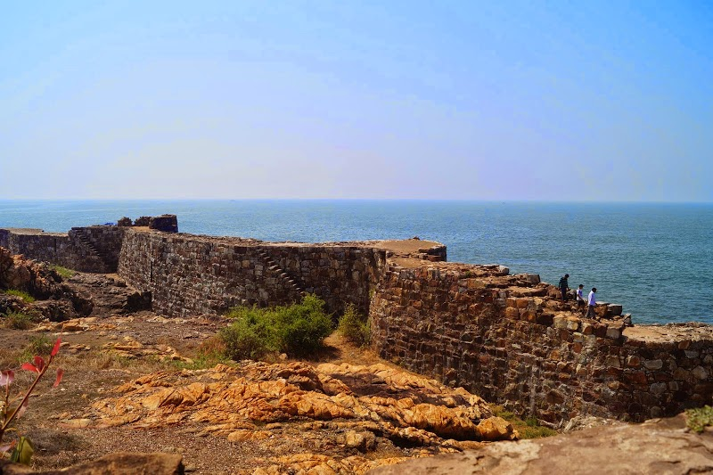 View from Sindhudurg Fort
