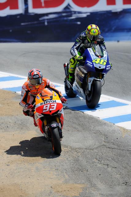 Rossi vs Marquez: Antara Insiden Corkscrew Laguna Seca dengan Chicane Assen