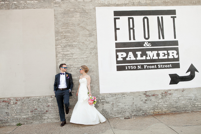 Erin & Stephen at Front & Palmer