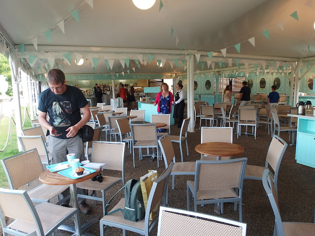 The Garden Cafe at Buckingham Palace