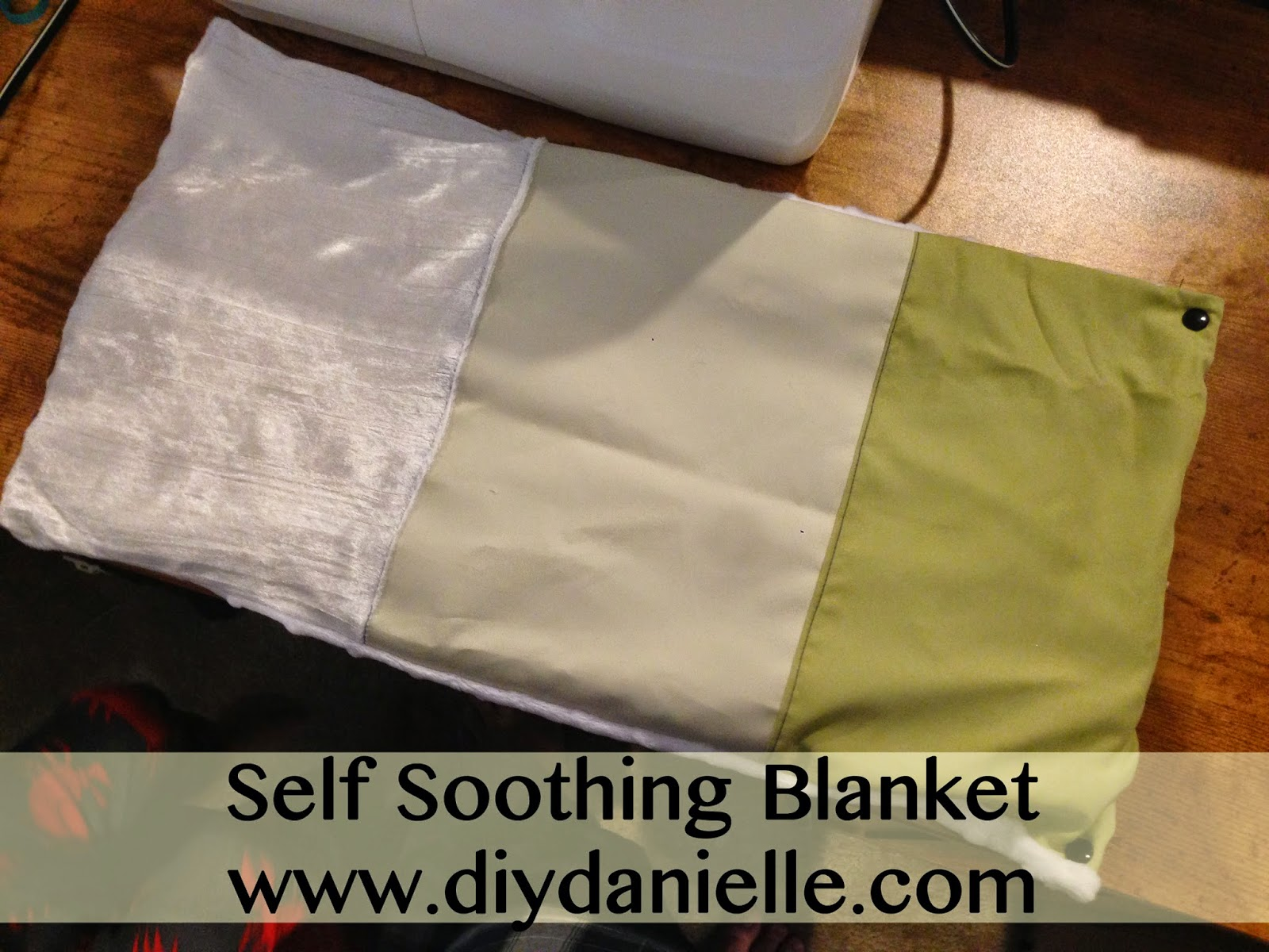 How to make your own self soothing blanket for toddlers