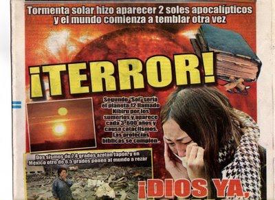 8-ABRIL-9-10-11-12-13...2011 aparece 2do SOL ayer en terremoto JAPON de 7,4g