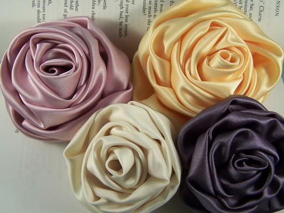 El rincón de las Manualidades de Siry*: Distintas flores de listones