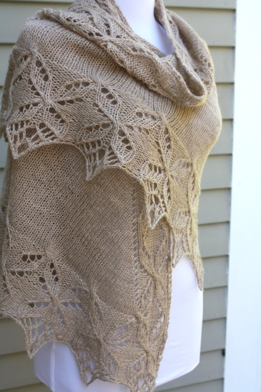 Quatrefoil Knitting Pattern : All Knitted Lace: Pattern Release: Lucky Quatrefoil Shawl