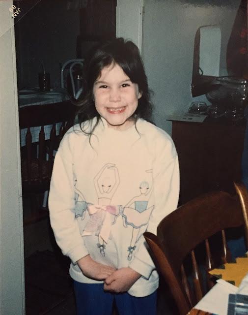 Throwback Thursday, #TBT, 1980s, ballet dancer sweatshirt, tactile sweatshirt, 1980s fashion, Jamie Allison Sanders