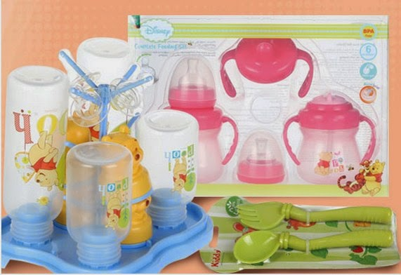 feeding set kiddy hanadora