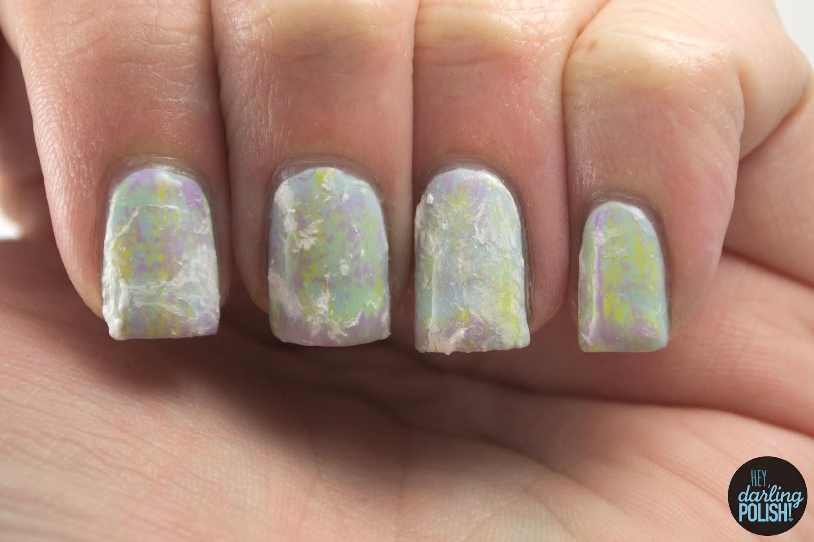 nails, nail art, nail polish, polish, pastels, hey darling polish, golden oldie thursdays