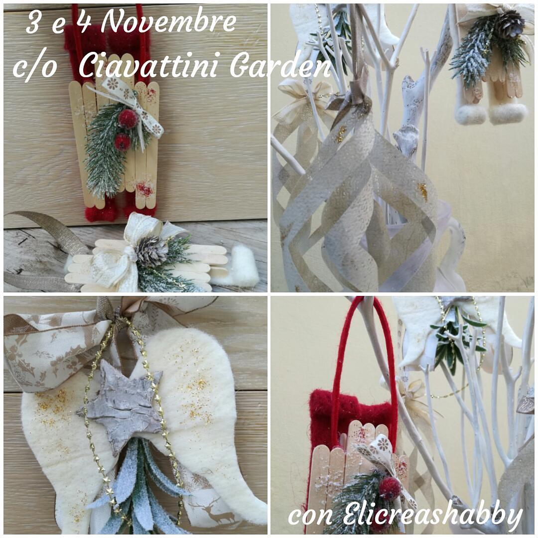 Prossimo CORSO CREATIVO: venerdì 3 e Sabato 4 Novembre presso Ciavattini Garden -Ancona
