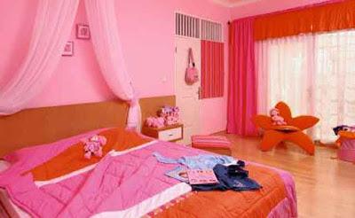 Gambar Kamar Tidur Minimalis Orang Dewasa Warna Pink