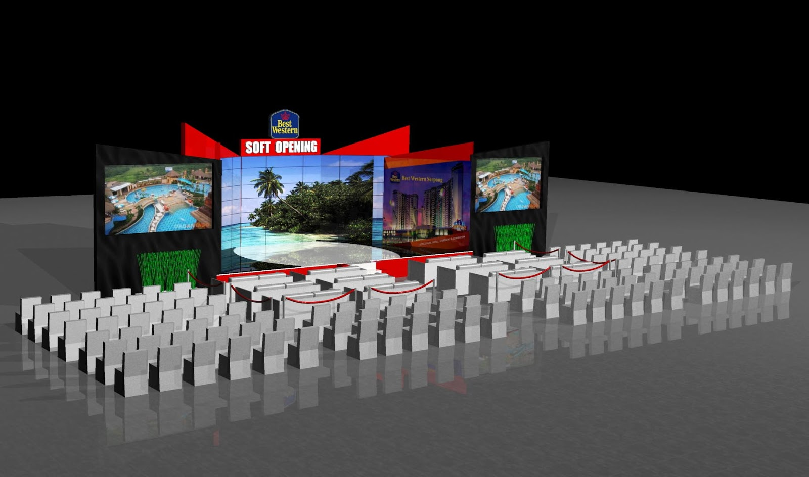 3d Stage Design Lay Out