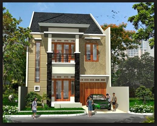 gambar rumah minimalis type 70 2 lantai, model rumah minimalis type 70 2 lantai