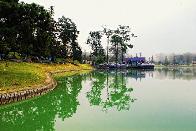 Xuan Huong Lake  in Vietnam