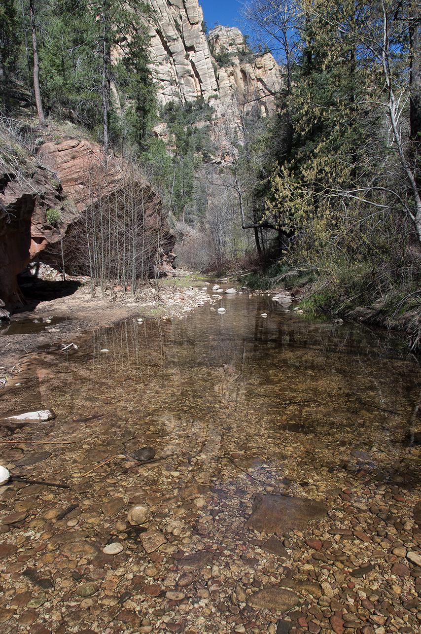 oak creek canyon west forks trail