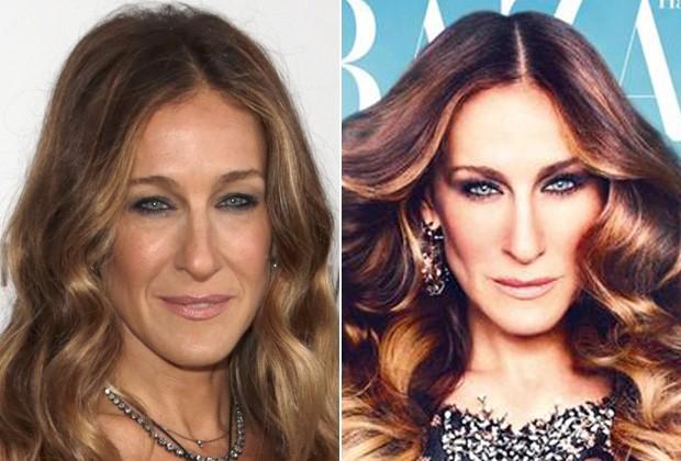 tô querendo saber..: Antes e depois do Photoshop