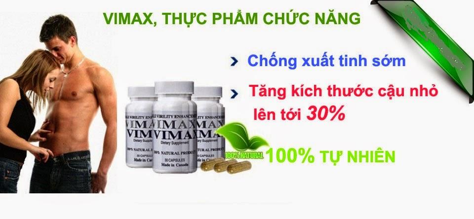Vimax pills cách làm to dương vật