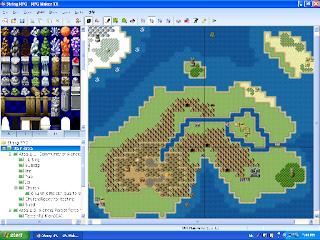 Editor de mapas do RPG Maker VX