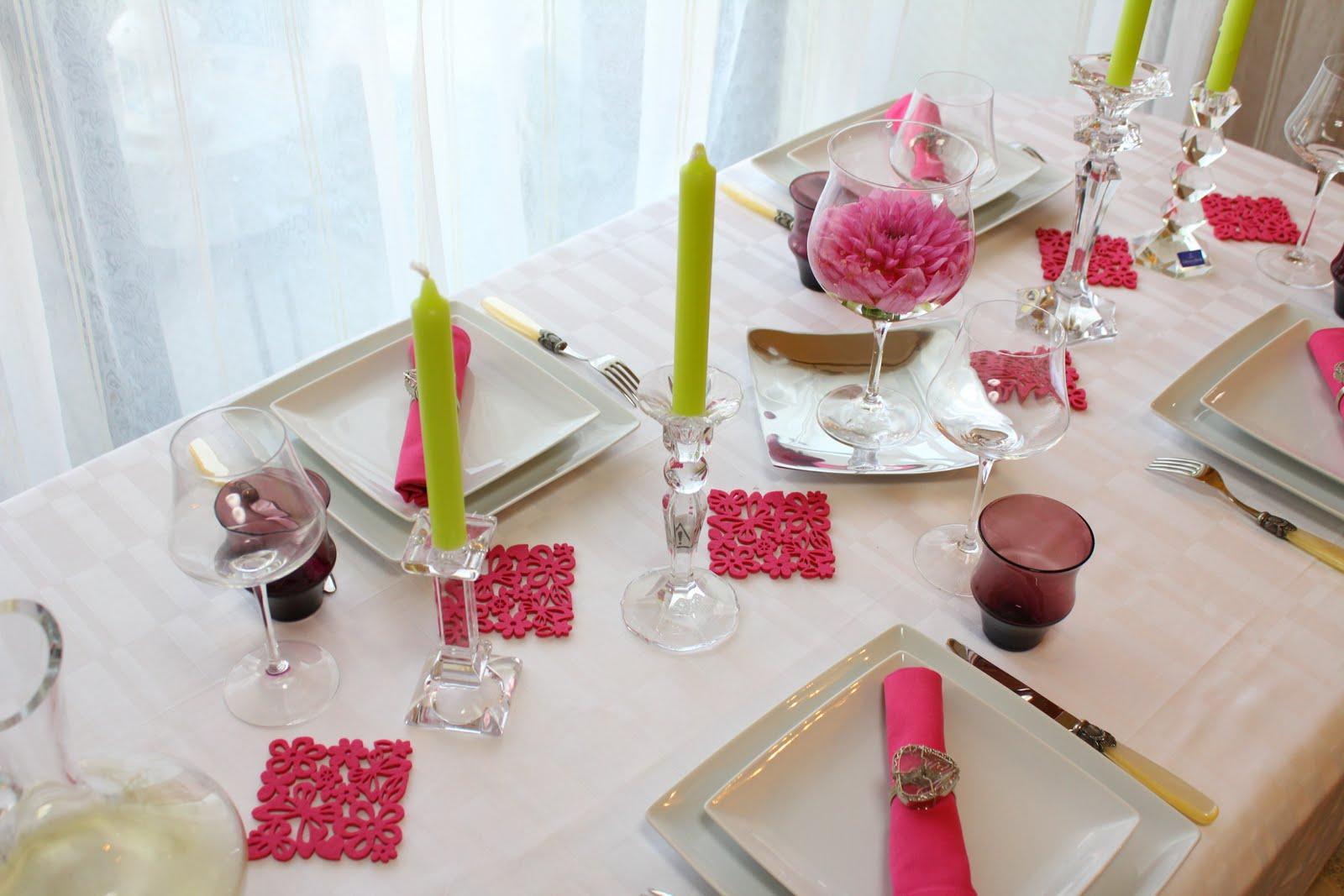 table de france  spring table decoration