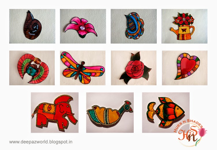Madhubani-Decor-Magnets-HuesnShades