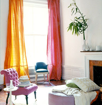 Curtains Ideas chinoiserie curtains : Chinoiserie Chic: Mismatched Curtains
