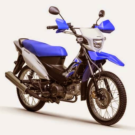 Honda XRM125 Dual Sport River Side Blue