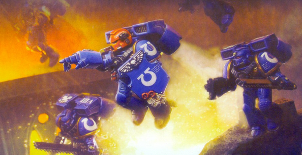 Space Marine Working Re-Directs