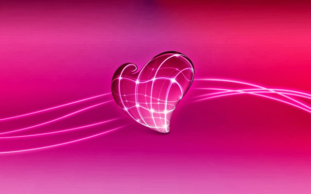 3d love heart wallpapers